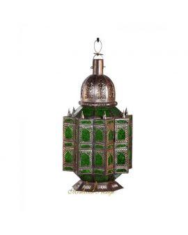 Arabesque Lantern Green