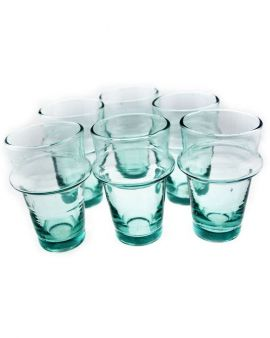 Kasbah Lust Clear Tea Glasses