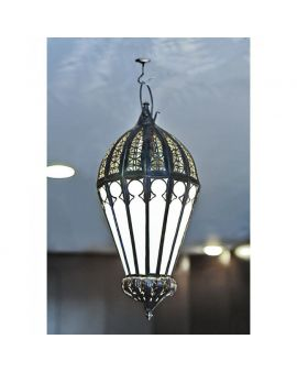Kouba White ceiling lamp